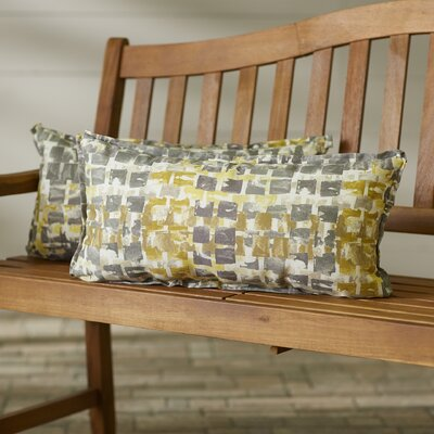 Tennille Indoor/Outdoor Lumbar Pillow Size: 12 H x 24 W