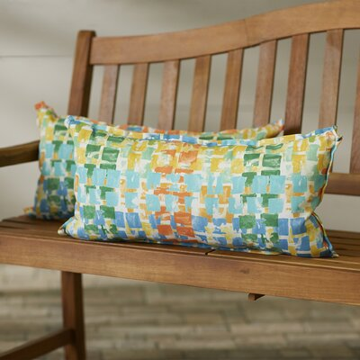 Momea Indoor/Outdoor Lumbar Pillow Size: 12 x 24