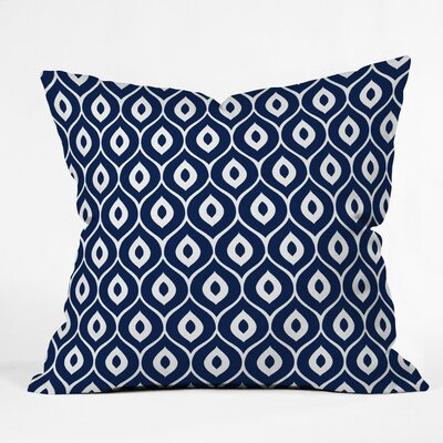 Caroline Outdoor Throw Pillow Size: 16 H x 16 W x 4 D