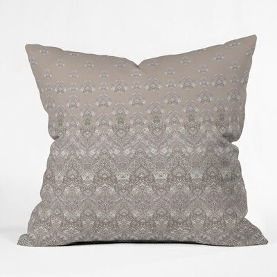 Jade Outdoor Throw Pillow Size: 16 H x 16 W x 4 D