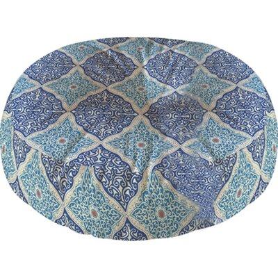 Carsen Round Floor Pillow Size: 23 H x 23 W x 6 D