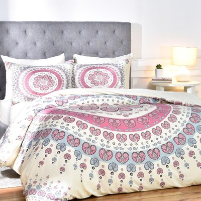 Carsen Duvet Cover Set Size: Twin/Twin XL