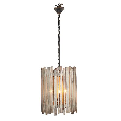 Conway 3-Light Shaded Chandelier