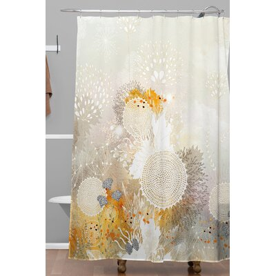 Holley Velvet Shower Curtain
