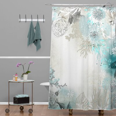 Terra Seafoam Extra Long Shower Curtain