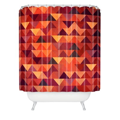Terra Trianglerain Shower Curtain