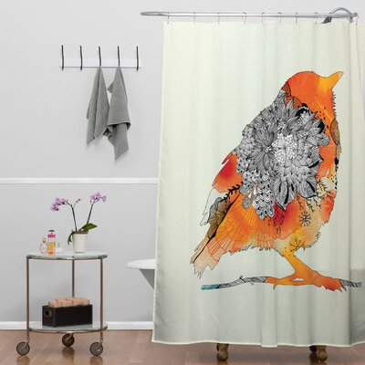 Holley Bird Shower Curtain