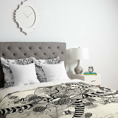 Play Duvet Cover Size: King, Fabric: Lightweight
