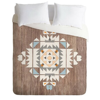Terra Tribal Lightweight Duvet Cover Size: Queen