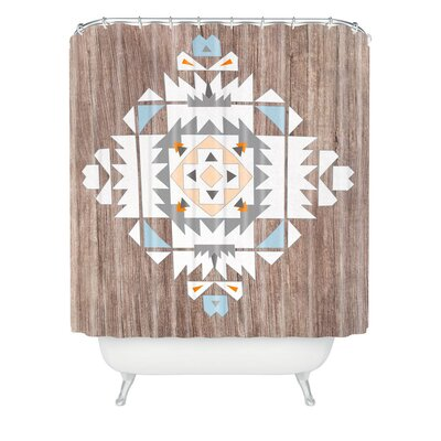 Terra Tribal Polyester Shower Curtain