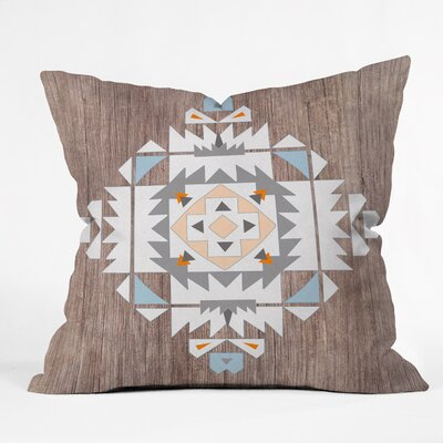 Holley Tribal Throw Pillow Size: 16