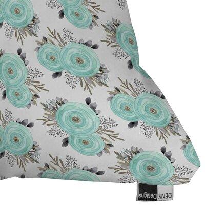 Holley April Mist Outdoor Throw Pillow Size: 18 H x 18 W x 5 D