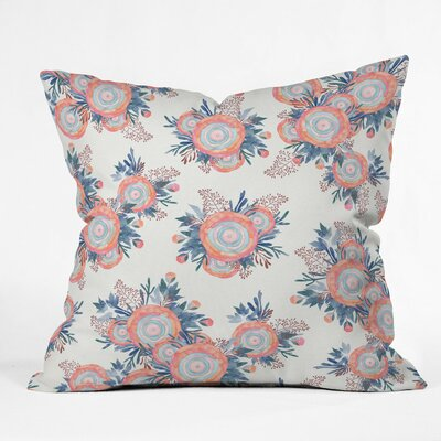 Holley Morning Whispers Outdoor Throw Pillow Size: 16 H x 16 W x 4 D