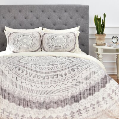 Burgess Geometric Duvet Cover Set Size: King