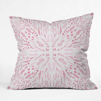 Burgess Outdoor Throw Pillow Size: 16 H x 16 W x 4 D, Color: Pink