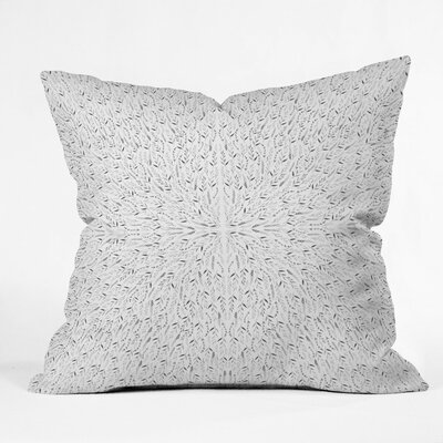 Holley Fog Outdoor Throw Pillow Size: 18 H x 18 W x 5 D