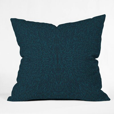 Holley Peacock Pond Outdoor Throw Pillow Size: 18 H x 18 W x 5 D