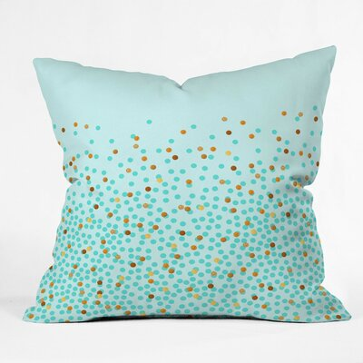 Holley Splash Outdoor Throw Pillow Size: 18 H x 18 W x 5 D