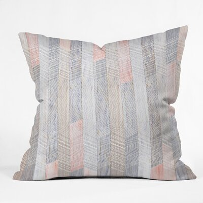 Burgess Fabric Outdoor Throw Pillow Size: 16 H x 16 W x 4 D