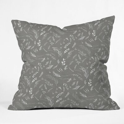 Holley Study X Outdoor Throw Pillow Size: 18 H x 18 W x 5 D