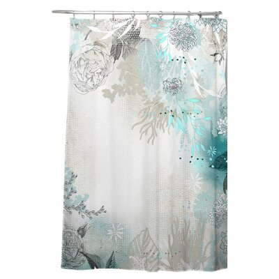 Terra Seafoam Shower Curtain