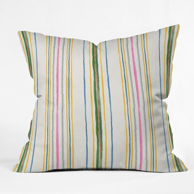 Soltane Stripe Outdoor Throw Pillow