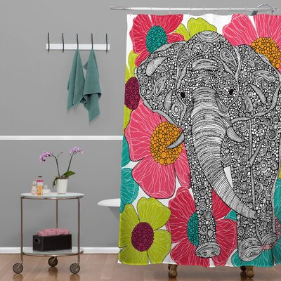 Deepak Groveland Extra Long Shower Curtain