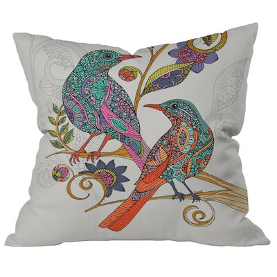 Deepak Levy and Deborah Indoor/Outdoor Throw Pillow Size: 16 H x 16 W x 4 D