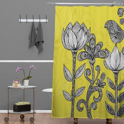 Deepak Garden Shower Curtain