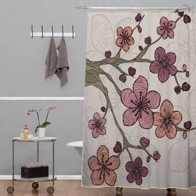 Deepak Blossom Shower Curtain