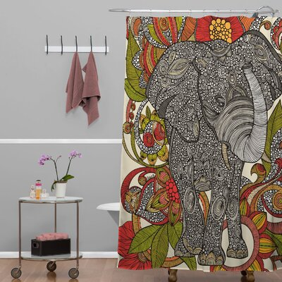 Deepak Bo The Elephant Shower Curtain