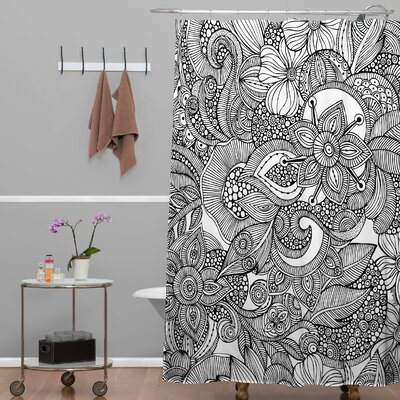 Deepak Doodles Shower Curtain