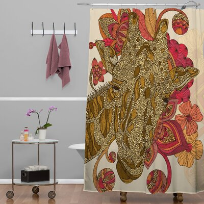 Deepak The Giraffe Shower Curtain