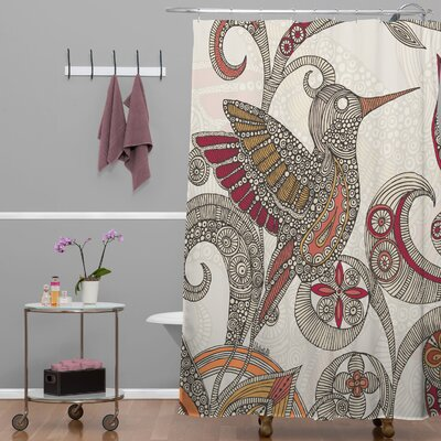 Deepak Flying Shower Curtain