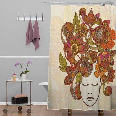 Deepak Its All in Your Head Shower Curtain