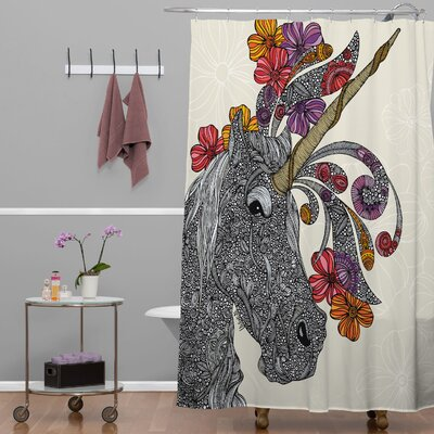 Deepak Unicornucopia Shower Curtain