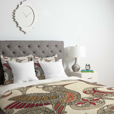 Deepak Flying Duvet Cover Size: Queen, Fabric: Lightweight