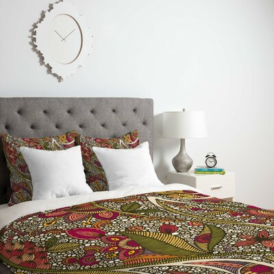 Deepak Kai Duvet Cover Size: King, Fabric: Lightweight