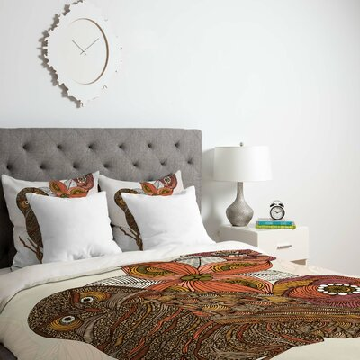 Deepak Victor Duvet Cover Size: King, Fabric: Lightweight