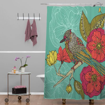 Deepak Contented Constance Shower Curtain