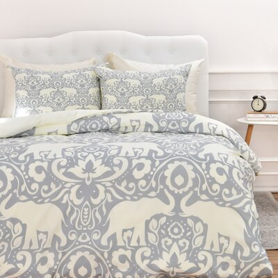 Darcy Duvet Cover Set Size: King