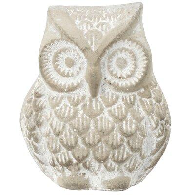 Otus Owl Concrete Statue