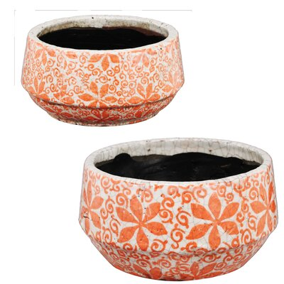 Bungalow Rose Siena 2 Piece Nested Bowls Set