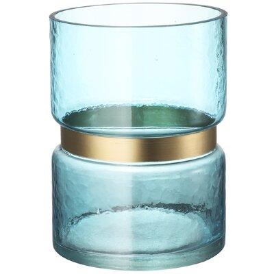 Glass Hurricane Size: 10 H x 6 W x 6 D