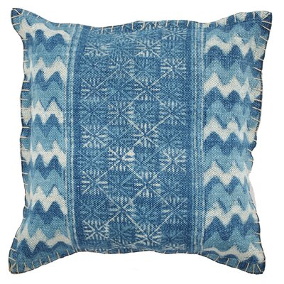 Edgewood 100% Cotton Square Throw Pillow