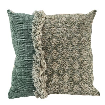 Chiraca 100% Cotton Square Throw Pillow