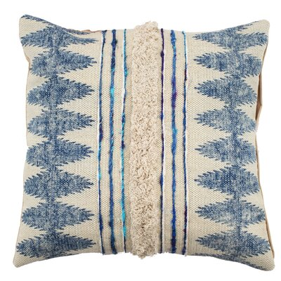 Emory 100% Cotton Square Throw Pillow