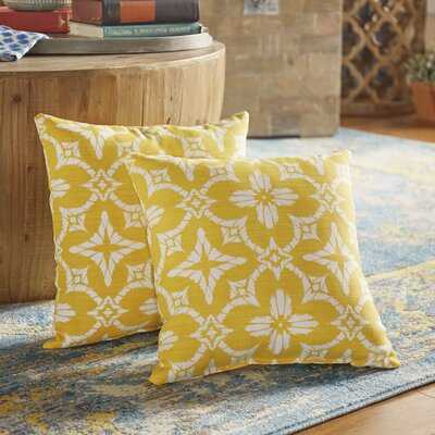 Boualam Outdoor Throw Pillow Color: Aspidoras Soliel