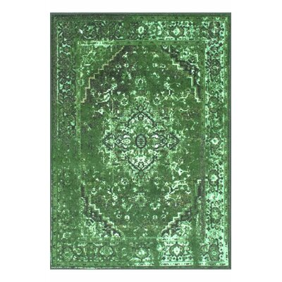 Radeema Green Area Rug Rug Size: 8 x 10