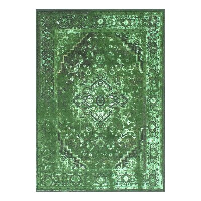 Radeema Green Area Rug Rug Size: 9' x 12'